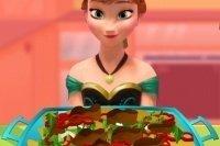 Anna y la ensalada de pollo