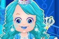 Baby Hazel: Viste a la Princesa de Hielo