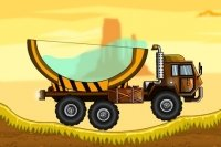 Camión con tanque agua