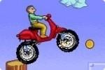 Carrera de scooter