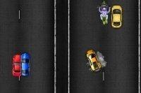 Carrera en la autopista