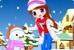 Chica de nieve