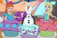 Cupcakes de Elsa
