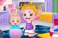 Día de los hermanitos con Baby Hazel