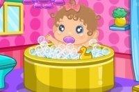 El cuarto de baño del bebé
