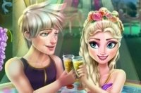 Elsa en el jacuzzi