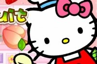 Hello Kitty corta fruta