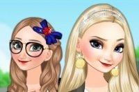 Hermanitas Frozen en la Uni