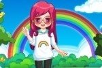 La chica del arcoiris