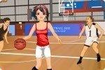 La jugadora de baloncesto