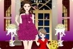 La mamá y su princesa