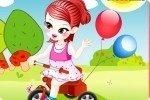 La niña del triciclo