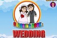 Libro para colorear de boda