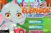 Médico para elefantitos