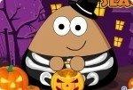 Pou en Halloween