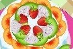 Prepara una tarta de frutas
