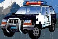 Puzle de policía
