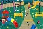Recoge el parque de juegos