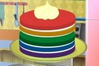 Tarta de arco iris 2