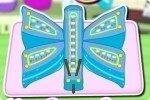 Tarta en forma de mariposa