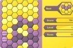 Tetris de panal de abejas
