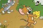 Tom y Jerry en el laberinto de queso