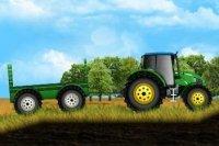 Tractor en la granja