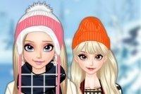 Vestir a Elsa para el viaje